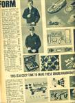 1964 Boy Scout BSA Equipment AD Crafts ++