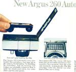 Click here to enlarge image and see more about item R1744: Argus camera ad - December 1964
