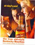 1964 Early Times whisky AD AT DAYS END