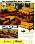 1977 KORNMEYER'S KIRSCHMAN Furniture AD 2pg
