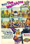 0982 WELCH's JELLY AD Welchkins Cartoon
