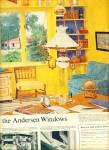 Click here to enlarge image and see more about item R1843: 1960  Andersen Windows AD Great Decor