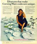 Click here to enlarge image and see more about item R1854: Corning Ware Cookware ad