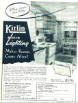 Click here to enlarge image and see more about item R1859: 1953 Kirlin System Lighting AD Great Design