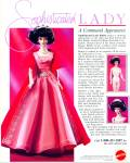 Click here to enlarge image and see more about item R1888: 1991 MATTEL BARBIE Sophiscated Lady AD