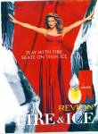 1997 Revlon FIRE and ICE ad CINDY Crawford
