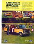 1978 Ford Wagon Van AD