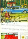 1959 FORD Wagon AD CAMPING TRIP ART