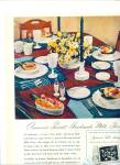 1948 WESTMORELAND GLASS AD Hobnail