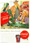 Click here to enlarge image and see more about item R2054: Coca Cola Coke Ad -  1948 HARRY ANDERSON ART
