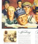 Click here to enlarge image and see more about item R2111: 1946 Pennsylvania Railroad AD Train Workers