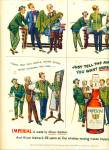 1950 IMPERIAL WHISKEY Albert Dorne AD Barber