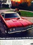 Click here to enlarge image and see more about item R2135: 1969 Chevrolet Chevelle SS Car PROMO  AD