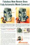 1958 Revere electric eye matic cameras ad