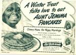 Click here to enlarge image and see more about item R2274: 1948 Aunt Jemima pancakes ad