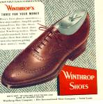 Winthrop shoes ad - 1951