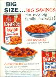 Click here to enlarge image and see more about item R2339: Chef Boy-AR-Dee spaghetti ad - 1958