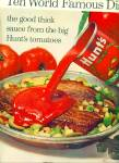 Click to view larger image of Hunt's Tomato sauce ads - 1965 (Image1)