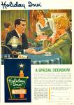 1965 HOLIDAY INN AD - ARTWORK Couple AD