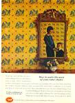 Click here to enlarge image and see more about item R2423: 1965 Wallpaper council AD Certified Dealer