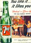 7-Up ad -  1952