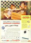 1952 Westinghouse LAUNDROMAT Girl's MUD Pies
