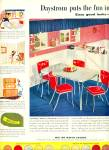 Click here to enlarge image and see more about item R2456: 1952 DAYSTROM VINTAGE Kitchen FURNITURE AD Ta