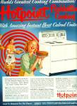 1952 Hotpoint Range / Stove AD SMILING WOMEN