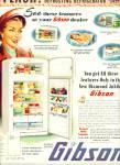 Gibson refrigerator company  - 1952