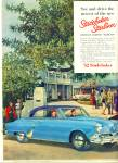 1952 Studebaker Starliner V8 Car AD Vintage H