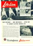 Click here to enlarge image and see more about item R2887: Westinghouse life line motors - 1948