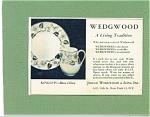 1953 Wedgwood  Dinnerware AD