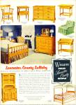 Willett solid maple ad -  1952