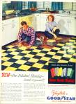 Click here to enlarge image and see more about item R3044: Vinyltile by Good year ad - 1952