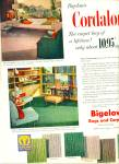 1952 Bigelow Cordalon Carpet - Rugs AD Retro