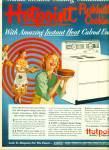 1952 Hotpoint Stove AD Women Cooking