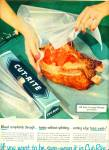 Click here to enlarge image and see more about item R3079: 1952 Cut Rite waxed paper ad    1952