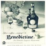 Click here to enlarge image and see more about item R3098: Benedictine Liqueur ad   1956