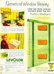 1952 Levolor Venetian AD GREAT DECOR IDEAS