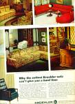 Click here to enlarge image and see more about item R3133: Kroehler furniture ad - 1965