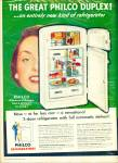 Click here to enlarge image and see more about item R3279: The Great Philco duplex ad - 1951