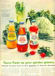 Kraft french dressings ad -  1956