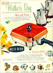 West Bend skillet  ad - 1956