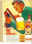 Click here to enlarge image and see more about item R3462: Falstaff beer ad