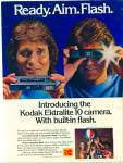 Click here to enlarge image and see more about item R3597: MICHAEL LANDON Kodak ektralite camera ad