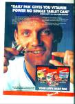 Click here to enlarge image and see more about item R3717: 1983 Life's Daily Pak  ad GEORGE BRETT