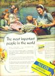 Click here to enlarge image and see more about item R3733: 1940's Nucoa Oleomargarine ad MOM - CHILDREN