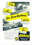 Click here to enlarge image and see more about item R3763: Athey force feed loaders ad - 1948