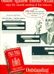Click here to enlarge image and see more about item R3788: Pall Mall famous cigarettes ad