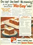 Swans Down cake flour ad